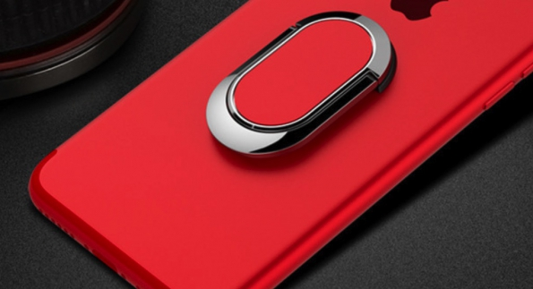 Ring Phone Holder To Your Smartphone With Colorful Printing And Logo Customization