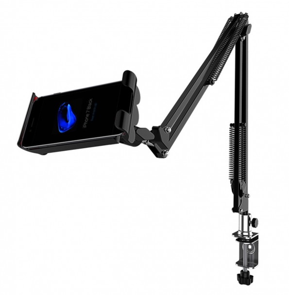 Tablet Stands Reader Mounts Holders Clipped on Table Free Your Hands