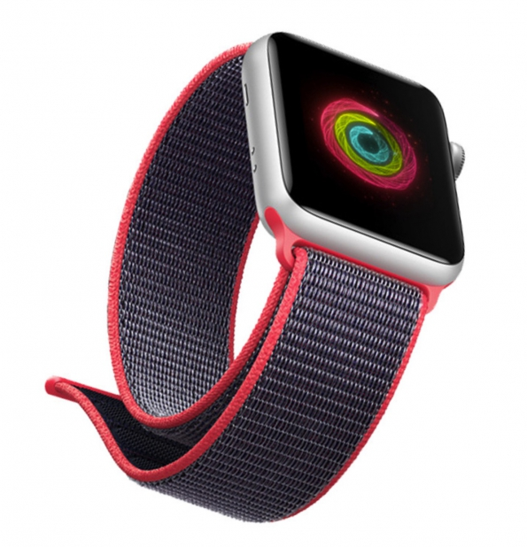 Nylon Strap Multi-color Band Sports Band For Apple Watch