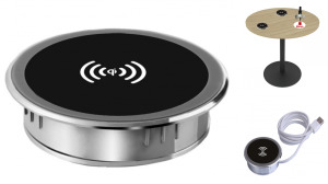 Table Hole Style Wireless Charger