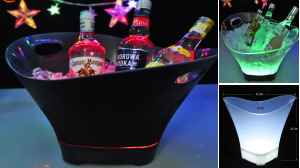 LED Ice Bucket 12L Colorful
