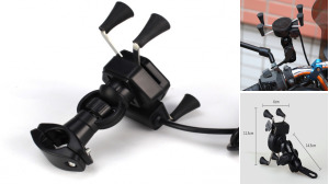 Mobile Phone Holder For Motorcycle